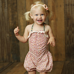 Mustard Pie Sugar Blossom Riley Romper