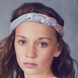 Jak & Peppar Starlight Wanderer Chella Braided Headband - Dazed Spa Blue (Del 1)