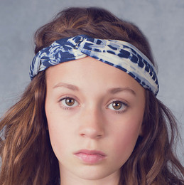Jak & Peppar Starlight Wanderer Chella Braided Headband - Dazed Navy (Del 1)
