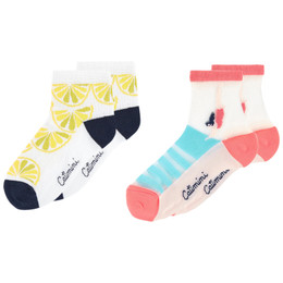 Catimini Floride 50's Pop Graphique Socks - 2 pairs