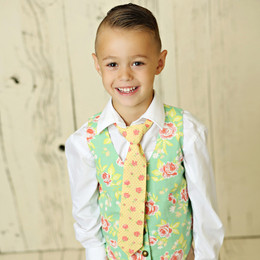 Mustard Pie Andalusia Boy's Neck Tie