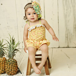 Mustard Pie Andalusia Riley Romper