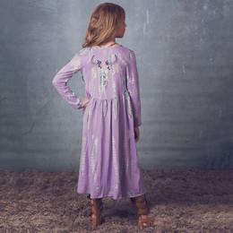 Jak & Peppar Starlight Wanderer Gypsy Gene Maxi Jacket - Dazed Lavender (Del 2)