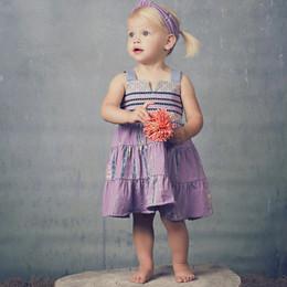 Jak & Peppar Starlight Wanderer Althea Dress - Dazed Lavender (Del 2)
