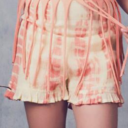 Jak & Peppar Starlight Wanderer  Washed Away Shorts - Dazed Tangerine (Del 2)