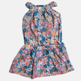 Mayoral Floral Printed Dress - Geranium