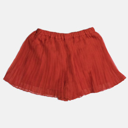 Mayoral Pleated Bermuda Skort - Watermelon