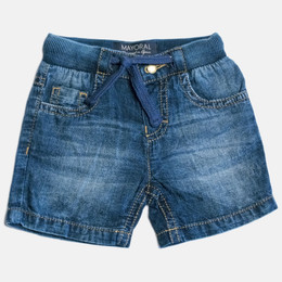 Mayoral Denim Bermuda Shorts - Dark