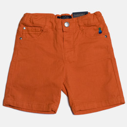 Mayoral Denim Bermuda Shorts - Chili