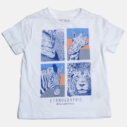Mayoral Ethnographic S/S Tshirt - White