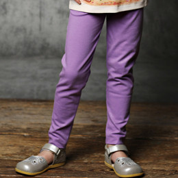 Lemon Loves Lime Stardust Leggings - Shimmer Lavender