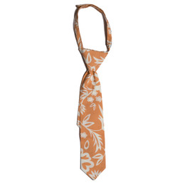 Mustard Pie Jeweled Forest Boy's Neck Tie - Peach