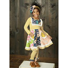 Mustard Pie Jeweled Forest Scrappy Ramona Dress