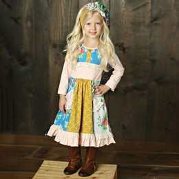 Mustard Pie Picnic Lunch Scrappy Ramona Dress