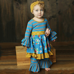 Mustard Pie Picnic Lunch Olivia 2pc Dress Set (*Now up to 4T!*)