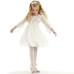 Biscotti Modern Maiden Chiffon Dress - Ivory