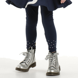 Kate Mack Pretty Kitty Leggings w/Sparkles - Navy