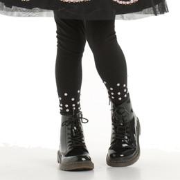 Kate Mack Rumba Roses Leggings w/Stones - Black