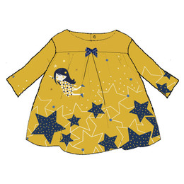 Catimini Graphic City Reve De Star Dress