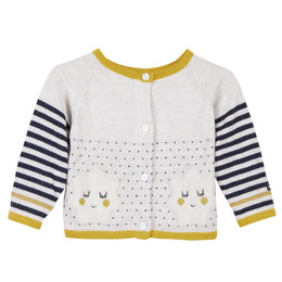 Catimini Graphic City Reve De Star Cardigan Sweater