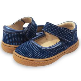 Livie & Luca Gemma Shoes - Navy Blue Sparkle (Fall 2017)
