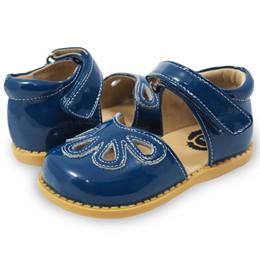 Livie & Luca Petal Shoes - Dark Blue (Fall 2017)