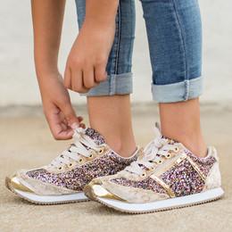 Joyfolie Ari Velvet Sneaker - Mixed
