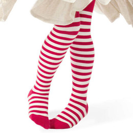 Paper Wings Tights - Red Stripes
