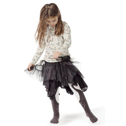 Paper Wings Sequin Spots Frilled Tulle Skirt