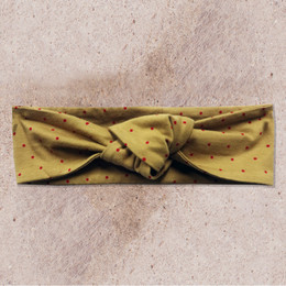 Mustard Pie Woodland Magic Gidget Headband - Gold