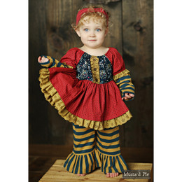 Mustard Pie Woodland Magic Baby Lola 2pc Set (*Now up to 4T!*)