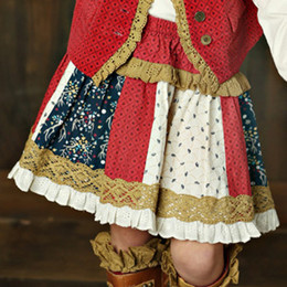 Mustard Pie Woodland Magic Mix It Up Skirt