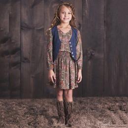 Jak & Peppar Wild Hearts Hudson Dress