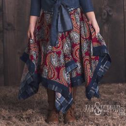 Jak & Peppar Wild Hearts Josefina Skirt