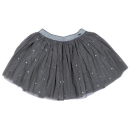 Mayoral Stars Tulle Skirt - Acero