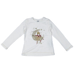 Mayoral Ballerina On Moon Tee - Crudo-Granate