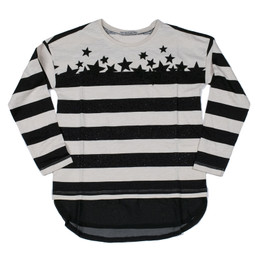 Mayoral Stars & Stripes Tee - Negro