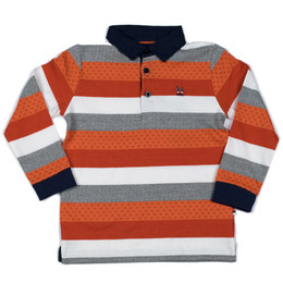 Mayoral Polo Striped Shirt - Sirope