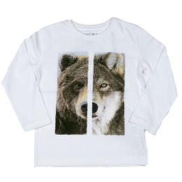 Mayoral Great Wolf / Bear Tee - Nata