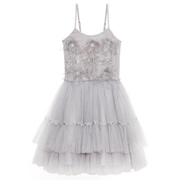 Tutu Du Monde Jewels Of The Palisades Let Them Eat Cake Tiered Tutu Dress - Silverlining