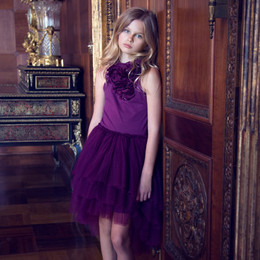 Tutu Du Monde Jewels Of The Palisades Ballroom Tutu Dress - Velvet