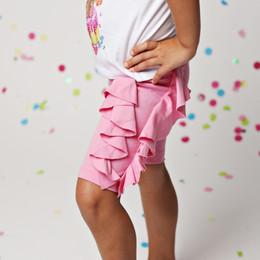 Lemon Loves Lime Cascade Shorts - Begonia Pink