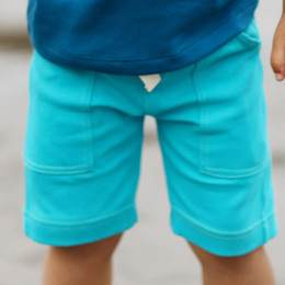 Lemon Loves Lime Gnu Brand Cargo Shorts - Scuba Blue