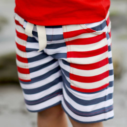 Lemon Loves Lime Gnu Brand Cargo Shorts - Stripe