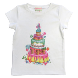 Lemon Loves Lime Birthday Tee - 4th Birthday