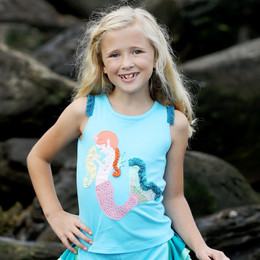 Lemon Loves Lime Secret Lagoon Mermaid & Seahorse Tank