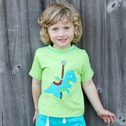 Lemon Loves Lime Gnu Brand Carousel Dragon Tee