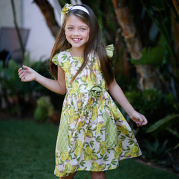 Giggle Moon Lemon Love Phoebe Dress