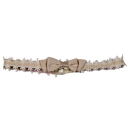 Biscotti Feeling Fancy Headband - Cream