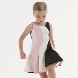 Biscotti Runway Status Swirl Dress - Multi